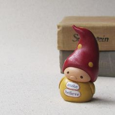 Miniature gnome - $30.00 by humblebea on Etsy