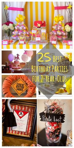 25 Best Birthday Parties For 2 Year Olds Old Party Girl