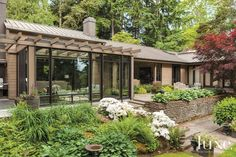 A Contemporary, Renovated Home on a Wooded Lot | LuxeSource | Luxe Magazine - The Luxury Home Redefined