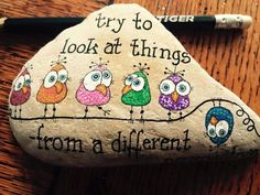 67 awesome and cute rock painting ideas rock art pinterest website suspended painted rock ideas do you need rock painting solutioingenieria Images