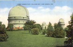 Yerkes Observatory, Williams Bay Lake Geneva Wisconsin