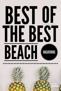 Time to plan your Beach Vacation. Summer planning just got easier! The best beaches around the world are all in one spot, this great list is a helpful tool to plan your dream summer beach vacation! Lanai Island, Island Beach, Vacation Pics, Vacation Fashion, Beach Fun, Summer Beach, Summer Travel, Beach Travel