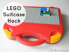 Hack your LEGO Suitcase to make the perfect screen-free activity for on the go kids! This LEGO Suitcase Hack is simple to do & can be temporary for travel.