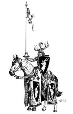 Oridinary Knight of the Realm from Gisoreux, Bretonnia. The difficulty level is rising - after drawing some stand-alone knight. Knight of the Realm Fantasy Battle, Medieval Fantasy, Fantasy Art, Medieval Knight, Warhammer Fantasy Roleplay, Star Wars Episode Iv, Knight Art, Sword And Sorcery, Knights Templar