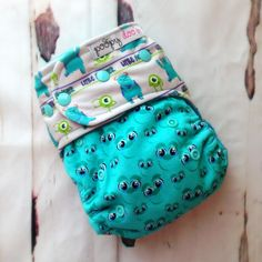 LIttle Monster Sully AI2 :: Poopy Doo Cloth Diapers