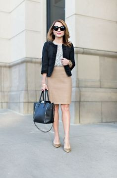 | Rita and Phill specializes in custom skirts. Follow Rita and Phill for more tips on the unwritten rules of office fashion!   https://www.pinterest.com/ritaandphill/business-casual-for-casual-offices