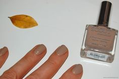 Scout Cosmetics 5 free Eco-Luxe Nail Lacquer in a perfect and timeless nude beige 'Invisible Touch'