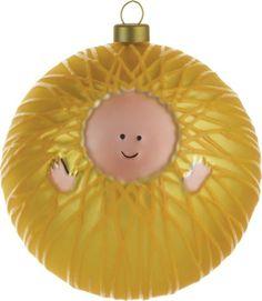 Niño Jesús, esfera de Alessi.