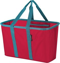 CleverMade SnapBasket Collapsible Shopping Basket/Grocery...