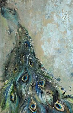 watercolor male peacock - Google Search - colors