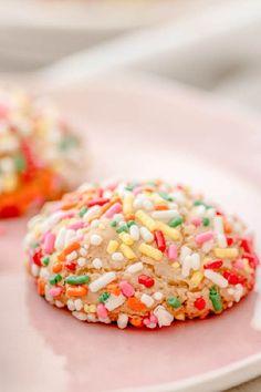 Sprinkled Italian Cookies Recipe