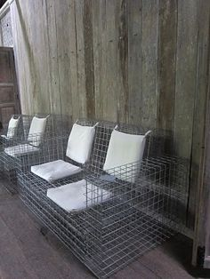 Wire Mesh Patio Furniture - Hollywood Thing