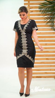 Nara, Look, Short Sleeve Dresses, Couture, Instagram, Shirts, Fashion, Trends, Curve Dresses