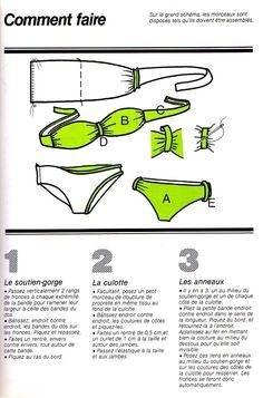 [Couture] Le maillot de bain - La Boutique du Tricot et des Loisirs Créatifs