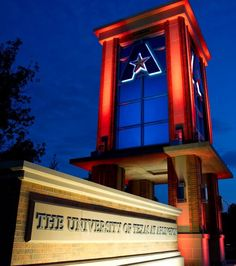 UT Arlington- This school really interested me because of the student life and the location. It seems like a REALLY fun school and everyone has school spirit. I think it would be easy to find a way to relieve my stress at this school and just have fun. Since it's in a suburban area, I think it would be something new for me but in a good way.