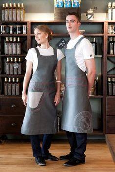 restaurant uniform ideas - Google Search