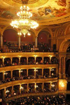 Hungarian State Opera House, Budapest, Hungary