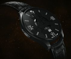 "VCXO Ox One ""Magic Button"" Mechanical Watch With GPS Time Synchronization - read more about this unique watch, and see the video on aBlogtoWatch.com ""The VCXO Ox One is a bold new concept from a young Geneva-based brand which offers a rather unique bond between GPS technology and mechanical movements..."""