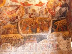 The Thousand-Year History of the Spectacular Cliff Face Monastery of Sumela | Ancient Origins Christian World, A Thousand Years, Origins, Cliff, Asia, Old Things, History, Face, Painting