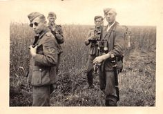Deutsche Soldaten Aufklärer Mit Russ Säbel Schitomir Ostfront Ukraine | eBay