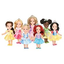 Disney Princess - My First Disney Princess Doll - Petite Princess Party Gift Set. Would love to get these for Miss P for Christmas. They are so cute!!