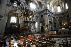 Eglise Saint-Paul - Saint-Louis Versailles, Jules Hardouin Mansart, Place Vendôme, Saint Louis, Chapelle, Architecture, French, Classic, Angel