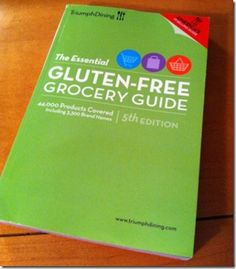 Navigate the grocery store more easily with Triumph's Essential Gluten-Free Grocery Guide!