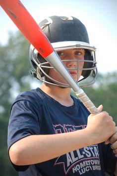 PEFYA's Austyn Jamerson waits to bat. (Photo by Hannah Davis)