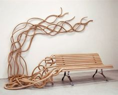 Spaghetti Bench by Pablo Reinoso! #chair #organic #manufacture #wood #contemporary #furniture #artoftheday #fashionable #art #furnituredesign #furnituredesigner #productdesign #productdesigner #interiordesign #interiordecor #interiordecorating #interior4all #gift #industrialdesign #interiorconcept #interiorandhome #interiorwarrior #interior_design #interiorismo #interiorstyled #interiorstyling #instadesign #bench