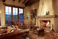 love this southwestern inspired home