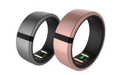 The Motiv Ring is made from lightweight titanium and tracks your biometrics from your finger.. #wearables #SmartRing #SmartJewelry #Fitness