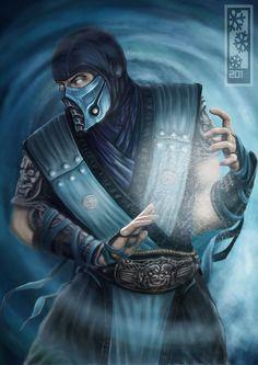Mortal Kombat - Sub-Zero by ~Tylerrthemesmer