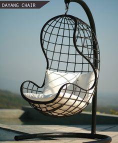Swing chair.