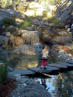 60 Marvelous Backyard Waterfall Garden Landscaping Ideas - Page 25 of 60 Waterfall Landscaping, Garden Waterfall, Pond Landscaping, Ponds Backyard, Landscaping With Rocks, Backyard Waterfalls, Backyard Ideas, Landscaping Design, Outdoor Ideas