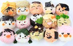Adorable onigiri bento roundup: おにぎりだらけ!