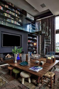 Interior Remodel - Simple Home and Apartment Interior Design Elegant Home Decor, Luxury Home Decor, Elegant Homes, Interior Design Magazine, Luxury Penthouse, Luxury Apartments, Apartment Interior Design, Interior Exterior, Penthouse Apartment