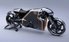 'Tron' designer creates Lotus motorcycle minus the blue glow via @CNET