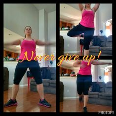 Workout even when you don't feel like it! You will thank yourself later!