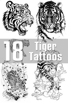 18 Tiger Tattoo Designs