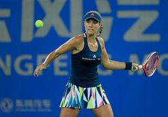 Kerber ousted by Kvitova at Wuhan Open in second match with top ranking