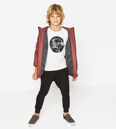 Manhattan top-NEW IN-BOY | 4 - 14 years-KIDS | ZARA Hungary
