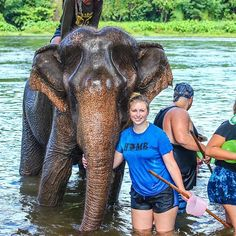 My life has been so touched on my trip to Thailand. This day was full of so many mixed emotions. I'm happy to say my elephant experience was ethical in the sense that we fed, cut down corn, made sticky rice, and then sticky rice balls for all the young, sick, old, abused, retired elephants that were lucky enough to live out the rest of their lives at this sanctuary. I would love to work for the elephants. Thank you to the photographer on our trip that could capture moments like these…
