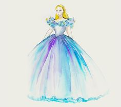 'Cinderella' costume secrets and original renderings. Designer Sandy Powell goes indepth on all those beautiful dresses