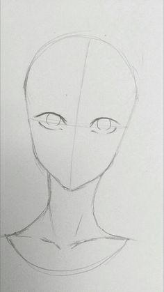 Manga Drawing Tips Art Drawings Sketches Simple, Pencil Art Drawings, Easy Drawings, Drawing Heads, Drawing Drawing, Drawing Tips, Drawing Faces, Drawing Techniques Pencil, Manga Drawing Tutorials