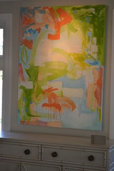 3' X 4' OIL AND GRAPHITE ON CANVAS BY LUCY WILLIAMS