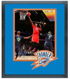Kevin Durant Thunder 2014 NBA All-Star Game - 11 x 14 Matted/Framed Photo