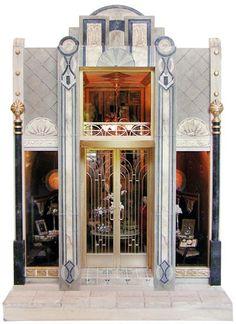 Bluette Meloney : 1930's Art Deco Millnary  Dress Shop