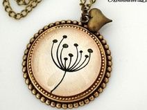 """Dandelion"" Vintage Necklace"