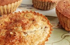 EATCLEAN,Muffins de banana y nuez