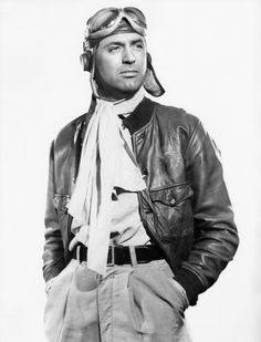 """Cary Grant in """"Only Angels Have Wings"""" (1939). Director: Howard Hawks."""